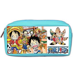Bóp Viết PS One Piece Màu Xanh Da Trời PSBOMAOP11-XDT