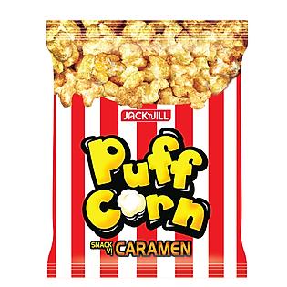 Bánh Snack Puff Corn Caramel Gói 45G