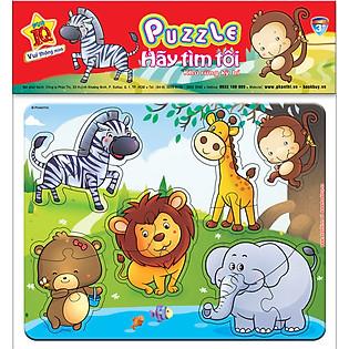 Puzzle Hãy Tìm Tôi 03 - Khu Rừng Kỳ Bí