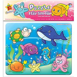 Puzzle Hãy Tìm Tôi 01 - Thám Hiểm Biển Sâu