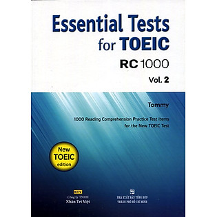 Essential Test For TOEIC RC 1000 Vol 2 (Không CD)