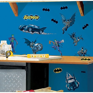 Giấy Dán Tường Roommates Batman - Dark Night Rises RMK1148SCS