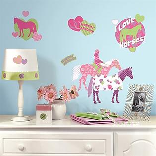 Giấy Dán Tường Roommates Những Chú Ngựa Đáng Yêu RMK1663SCS