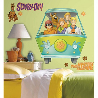Giấy Dán Tường Roommates Scoopy Doo Và Những Người Bạn RMK1697GM