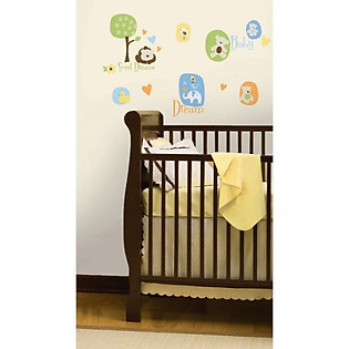 Giấy Dán Tường Roommates Mordern Baby RMK1777SCS