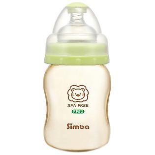 Bình Hồ Lô Nhựa PPSU Simba S6186 (200Ml)