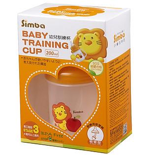Cốc Tập Uống Simba Bước 3 Miệng Ống Hút S9934-3 (200Ml)