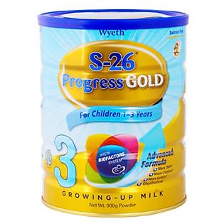 Sữa Wyeth S-26 Progress GOLD (900G)