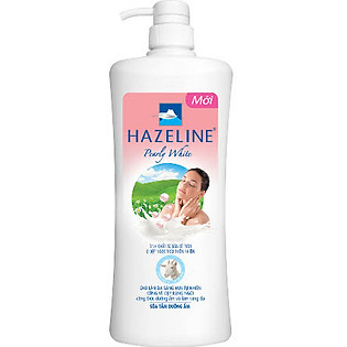 Sữa Tắm Hazeline Sữa Dê Và Ngọc Trai 900Ml