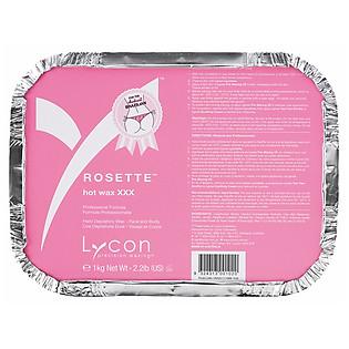 Sáp Cứng Tẩy Lông Hương Hoa Hồng LYCON Rosette Pastel Hot Wax (1Kg)