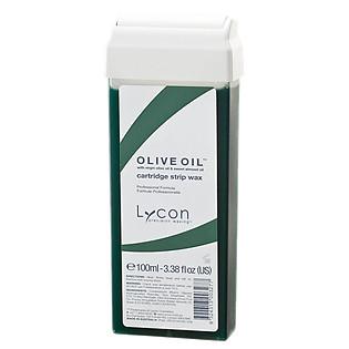 Sáp Mềm Tẩy Lông Dạng Lăn LYCON Strip Wax Cartridge Olive Oil - Hương Ô Liu (100Ml)