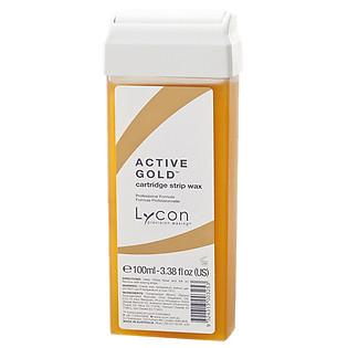 Sáp Mềm Tẩy Lông Dạng Lăn LYCON Strip Wax Cartridge Active Gold - Hương Kim Sa (100Ml)