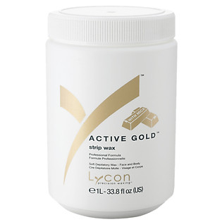 Sáp Mềm Tẩy Lông Kim Sa LYCON Strip Wax Active Gold™ (1L)