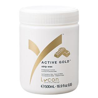 Sáp Mềm Tẩy Lông Kim Sa LYCON Strip Wax Active Gold™ (500Ml)