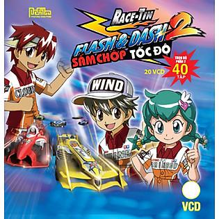 Flash And Dash - Sấm Chớp Tốc Độ (Trọn Bộ 13 VCD)