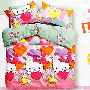 Bộ Ga Gối Cotton Hàn Quốc Julia 111BK18-1M8 X 2M