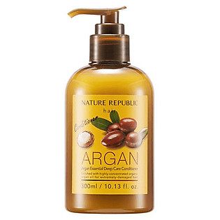 Dầu Xả Chiết Xuất Argan Nature Republic Argan Essential Deep Care Conditioner (250Ml)