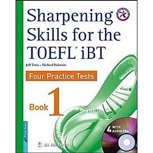 Sharpening Skill For The Toefl IBT 1 (Kèm 4CD) ( Tái Bản)