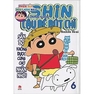 Shin - Cậu Bé Bút Chì (Hoạt Hình Màu) - Tập 6 (Tái Bản 2015)