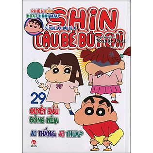 Shin - Cậu Bé Bút Chì (Hoạt Hình Màu) - Tập 29 (Tái Bản 2015)