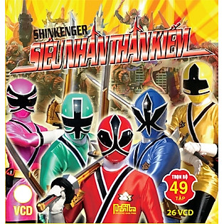 Shinkenger - Siêu Nhân Thần Kiếm - VCD 13