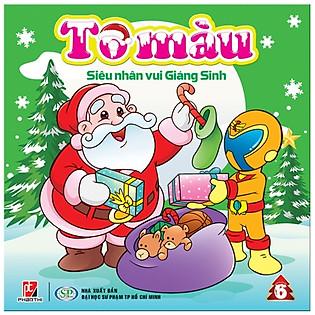 Tô Màu Siêu Nhân Vui Giáng Sinh