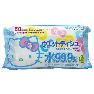 Gói 80 Tờ Giấy Ướt LEC Hello Kitty SS237
