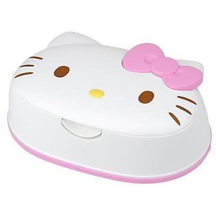 Giấy Ướt Nước Tinh Khiết 99.9% LEC Hello Kitty Có Hộp Đựng SS230