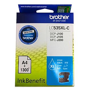 Brother LC-535XL C Ink Cho DCP-J100/J105/MFC-J200 (Xanh Lục)