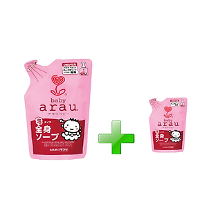 Túi Sữa Tắm Cho Bé Arau Baby. (440Ml) - N