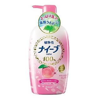 Sữa Tắm Naive Đào - 550Ml