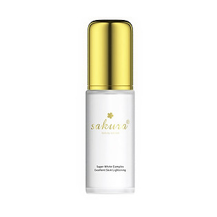 Hỗn Hợp Dưỡng Trắng Chống Lão Hóa Sakura Super White Complex Excellent Skin Lightening (30Ml)