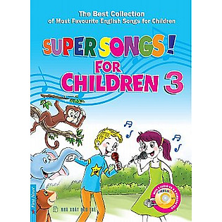 Hộp Super Songs 3 (Sách + 1CD)