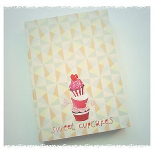 Notebook Sweet Cupcakes