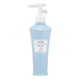Sữa Dưỡng Thể Bông Cotton Trắng  Cotton White Body Lotion Missha - M3452 (200Ml)