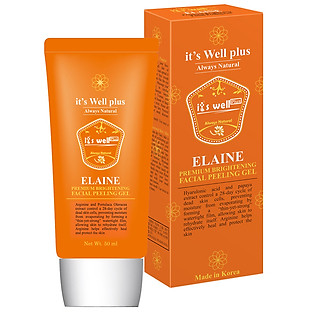 Gel Tẩy Da Chết Làm Sạch Và Sáng Da Elaine It's Well Plus (50Ml)