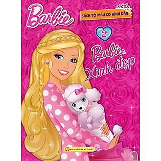 Barbie Xinh Đẹp - Tập 2 (Sách Tô Màu)