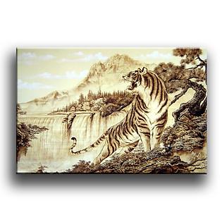 Tranh Canvas Vicdecor TCV0013 Chúa Tể Sơn Lâm