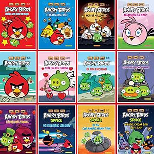 Combo Thử Tài Cùng Angry Birds