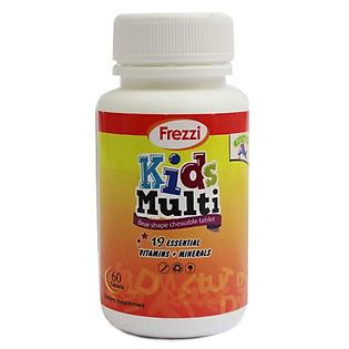 Hộp 60 Viên Uống Vitamin Tổng Hợp Frezzi Kids Multi