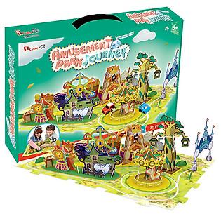 Mô Hình 3D Cubicfun – Amusement Park Journey K1002h