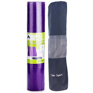 Combo Thảm Yoga Tím Và  Bao Đựng ( Tím)