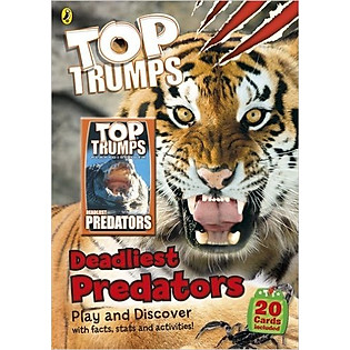 Top Trumps: Deadliest Predators (Paperback)