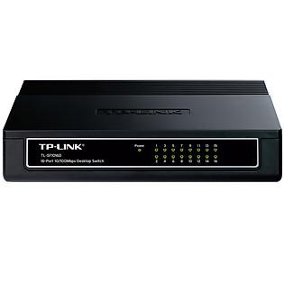 TP-LINK TL-SF1016D - Switch Chia Tín Hiệu Để Bàn 16 Cổng 10/100Mbps