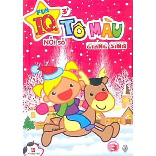 Tô Màu Giáng Sinh Nối Số 03