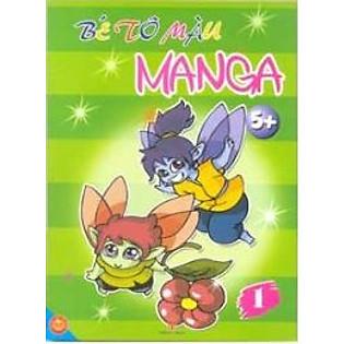 Tô Màu Manga (5+) Tập 1