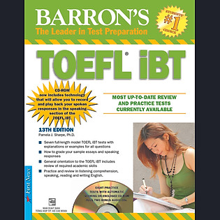Barron'S TOEFL Ibt 13Th Edition (Kèm 3 CD)