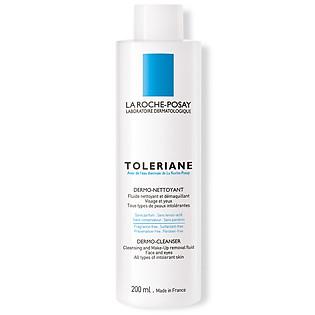 Gel Rửa Mặt Và Tẩy Trang Cho Da Quá Nhạy Cảm La Roche-Posay Toleriane Dermo-Cleanser (200Ml) - M8669000