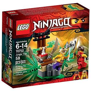Mô Hình LEGO Ninjago - Bẫy Rừng 70752