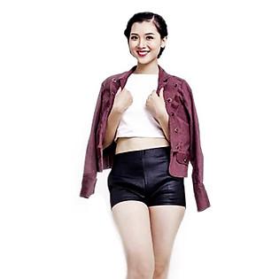 Jacket Ticke Tay Dài Nút Hai Bên Labelle JK1 - Hồng Môn